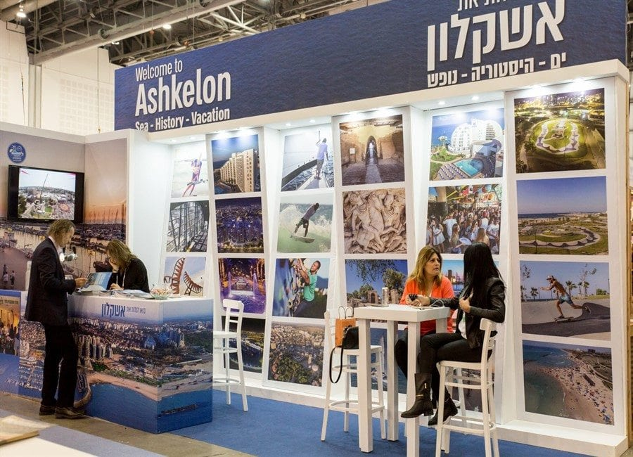 ביתן קוליסות אשקלון - עיצוב ביתנים